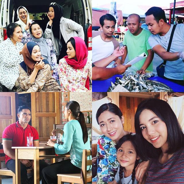 Pelakon Misteri Wan Peah TV3