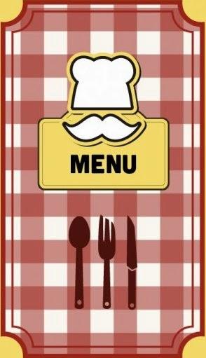 menú de menjador