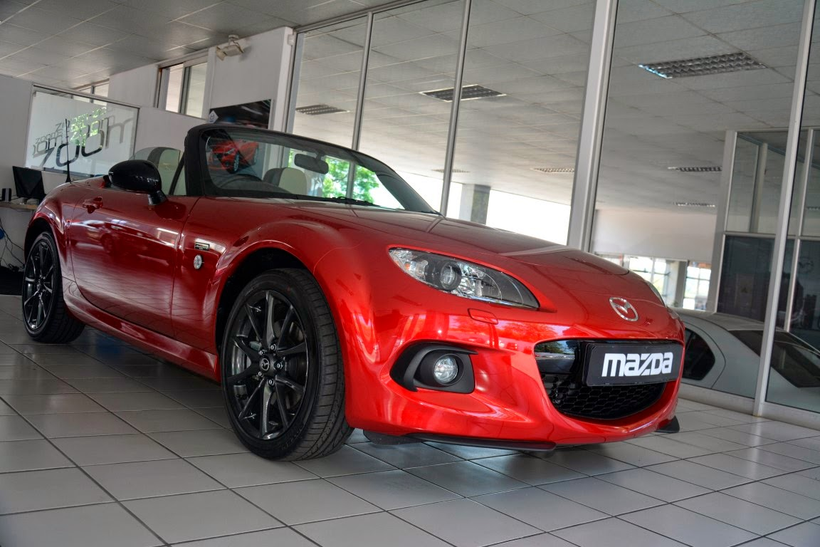 Mazda Mx5 Owners Club Gauteng 25th Anniversary Mx5