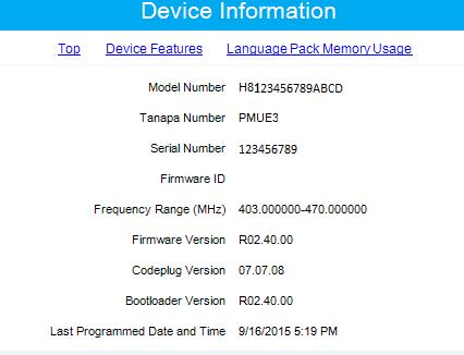 Motorola CPS   RSS Software Programming: Updating Motorola Firmware