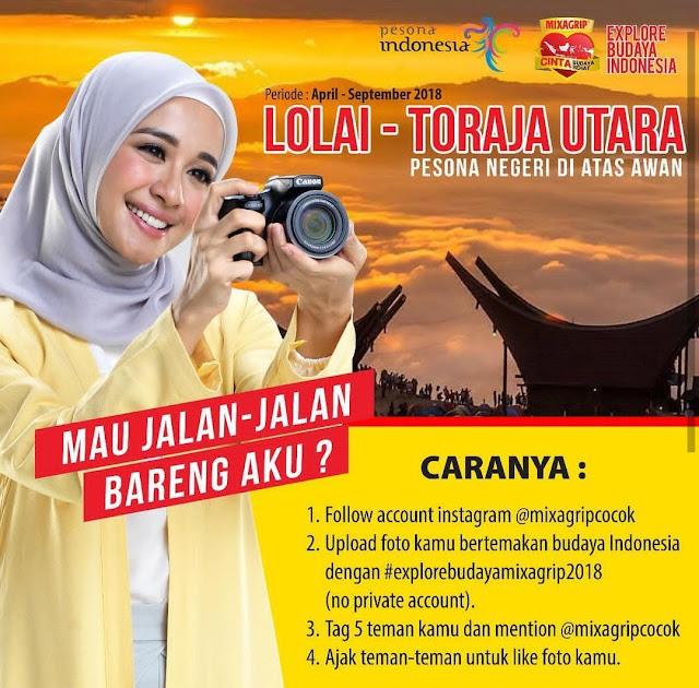 Pakai Latar Wisata Alam Toraja, Laudya Cythia Bella Ajak Foto Bertema Budaya Indonesia
