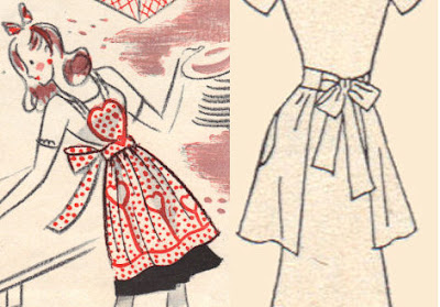 free vintage apron sewing patterns