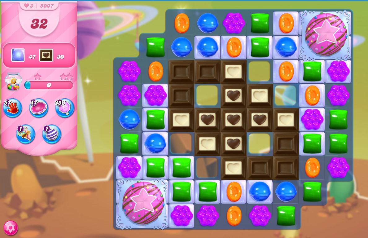 Candy Crush Saga level 5007