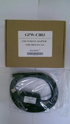 Cáp lập trình cho màn hình cảm ứng Hmi Proface GPW-CB03