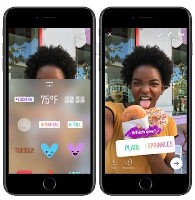 Cara Menggunakan  Polls / Jejak Pendapat di Instagram Stories