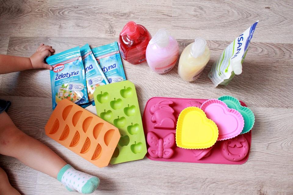 Żelowe mydełka - składniki
