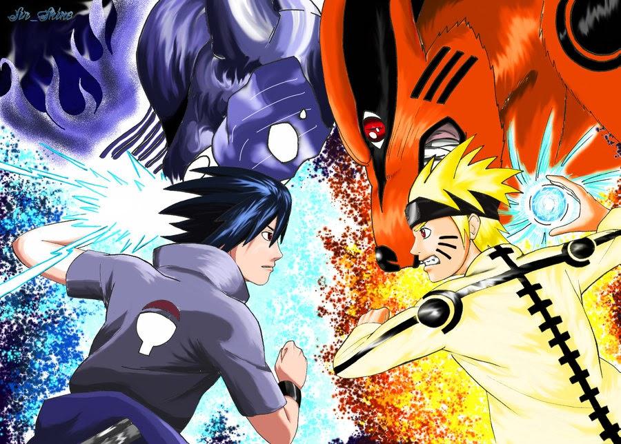 Naruto Vs Sasuke Dope Wallpaper Novocom Top
