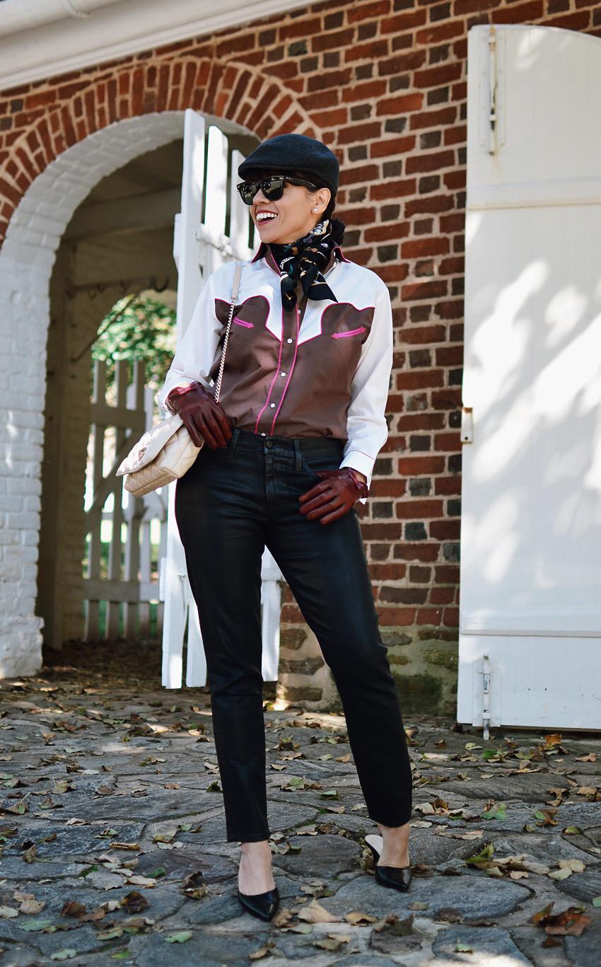 Equestrian style fashion