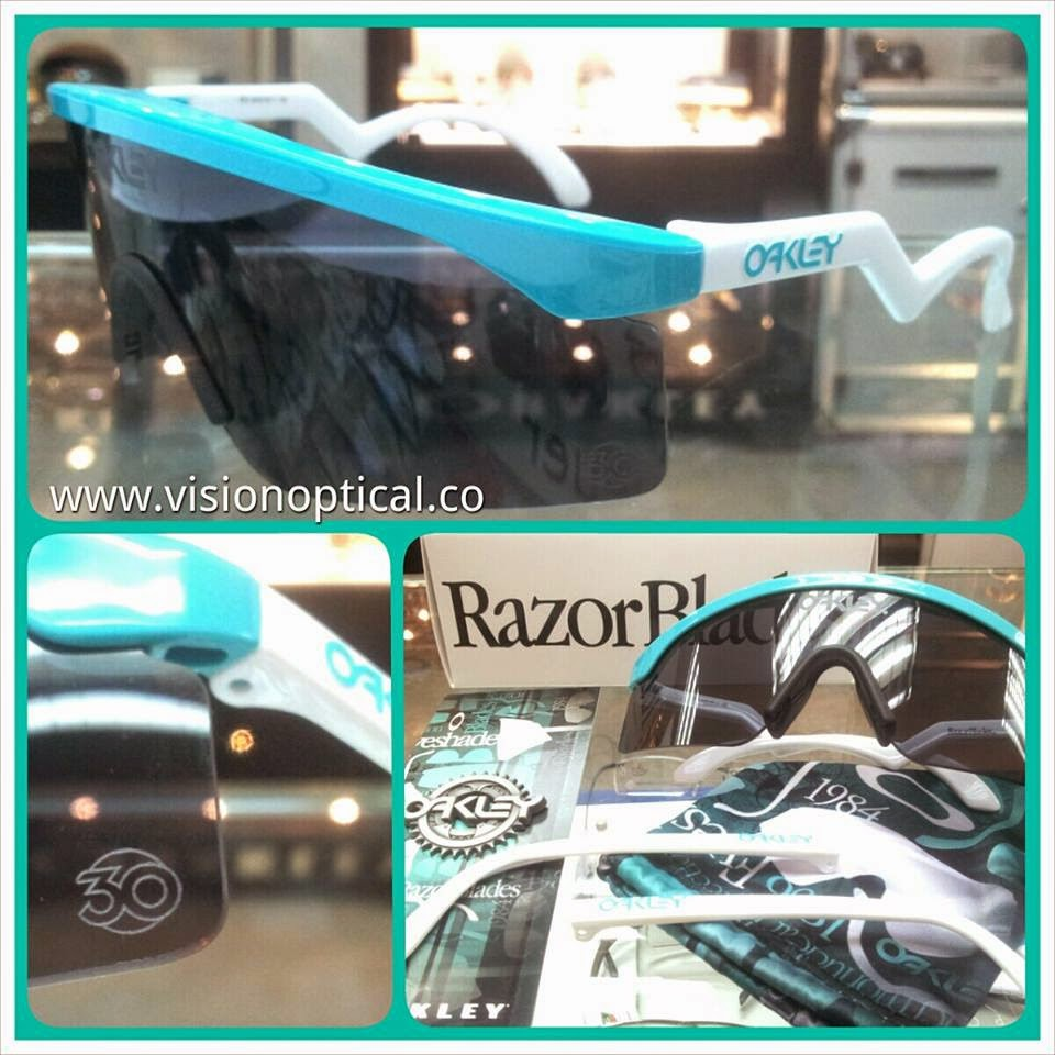 Oakley 30th週年紀念版太陽鏡,SPECIAL EDITION HERITAGE RAZOR BLADES™