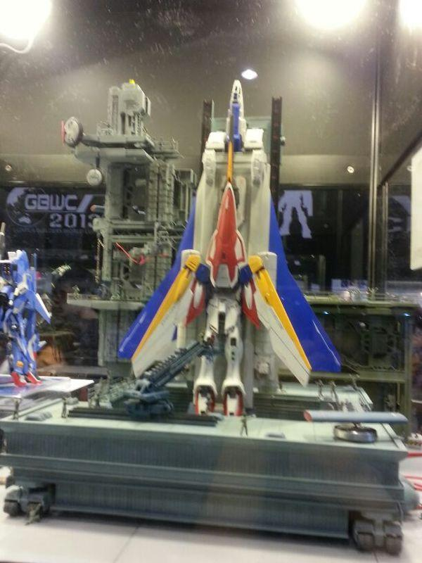 MG 1/100 Wing Gundam Diorama Build at ACGHK - Gundam Kits