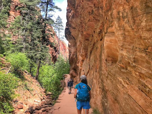Refrigerator Canyon Angel's Landing hike