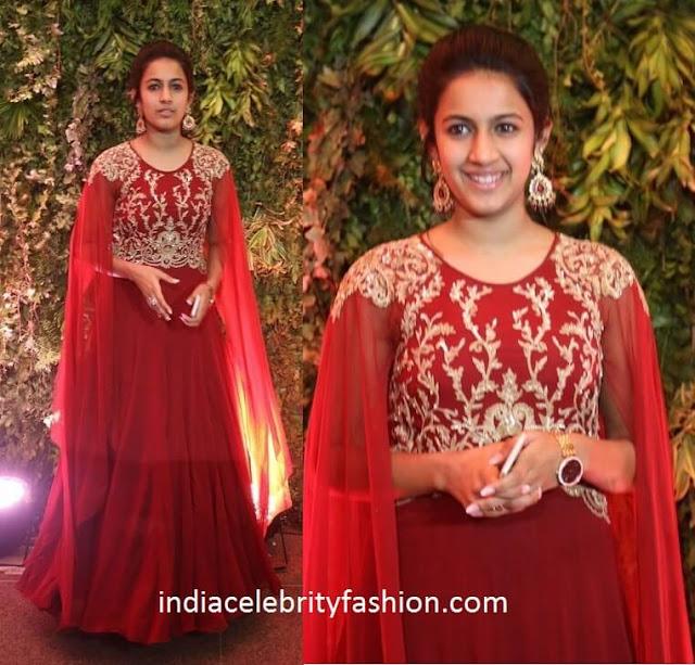 Niharika Konidela at Sreeja Wedding Reception