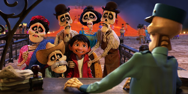 Disney Pixar films, Day of the Dead, Dia de los Muertos, Mexican traditions, family