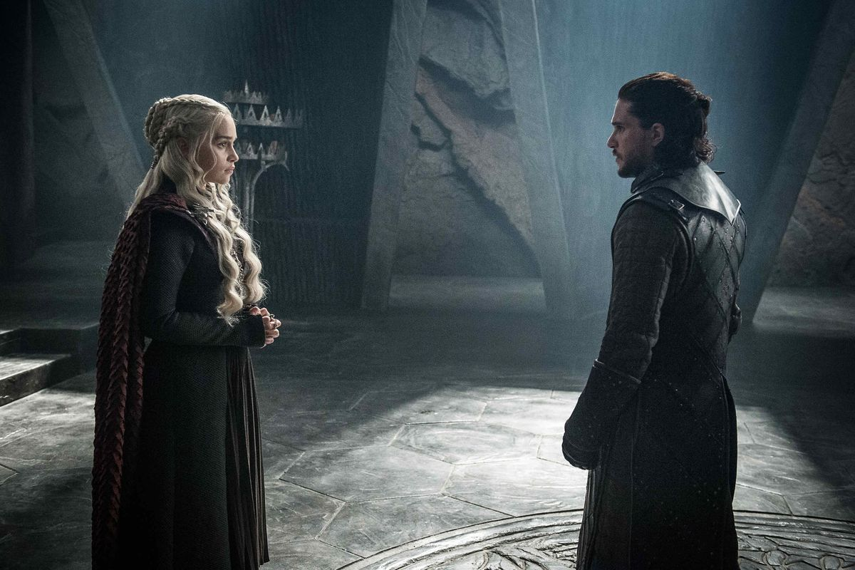 Daenerys y Jon se conocen