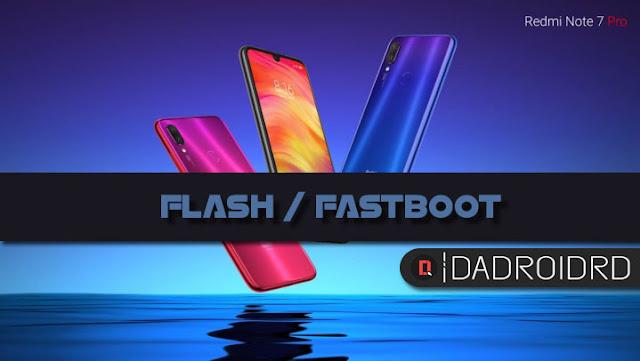 Cara Fastboot Redmi Note 7 Pro Mi Flash Tool