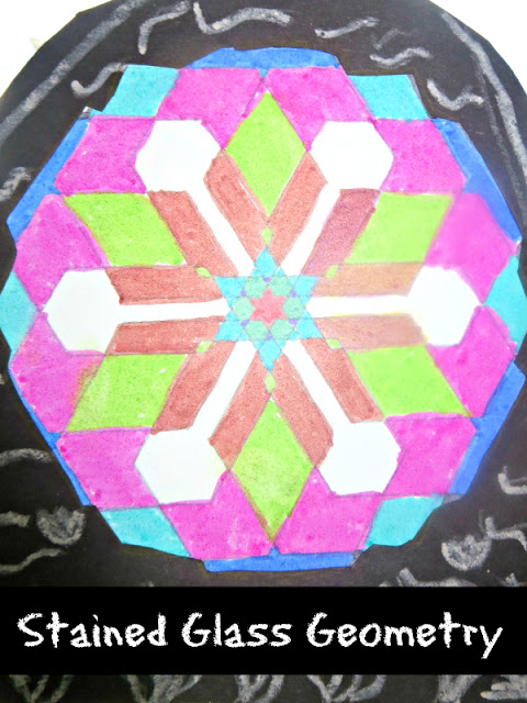 Explore Geometry in Art with Islamic Stained Glass Art Project for Kids