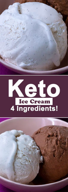 Easy Keto Ice Cream, Just 4 Ingredients For dessert