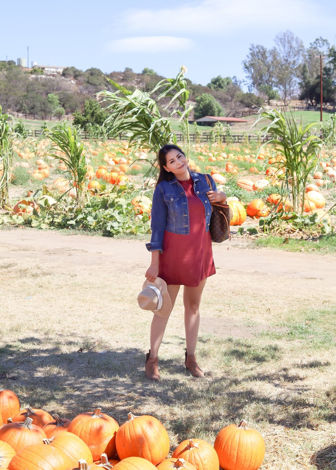 what to wear to the pumpkin patch, san diego style blogger