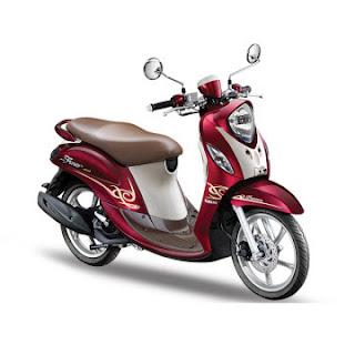 Dealer Motor Yamaha Mio Fino Premium FI di Solo Merah