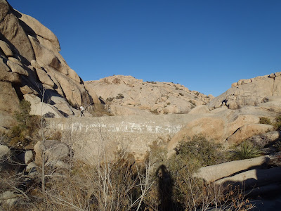 Joshua Tree National Park California Barker Dam
