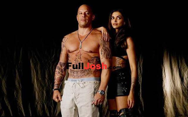 Deepika Padukone With Hollywood Star ??