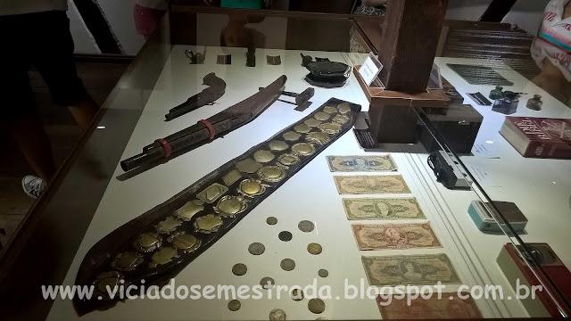 Objetos expostos no Museu Cláudio Oscar Becker