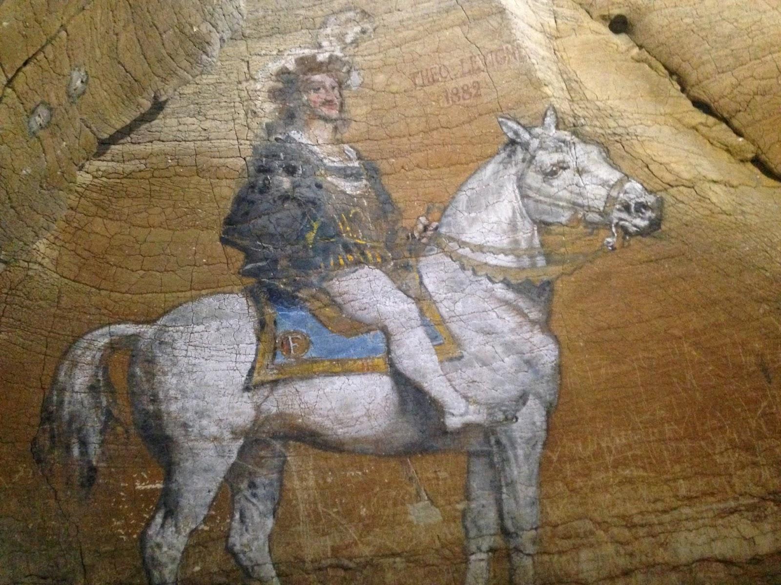 grottes de la balme, Théordore Levigne