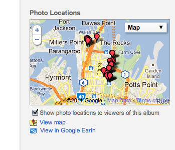 I Found This Useful: Combine Google Maps and Picasa / Picasaweb