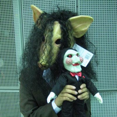 Cosplay para Halloween Saw