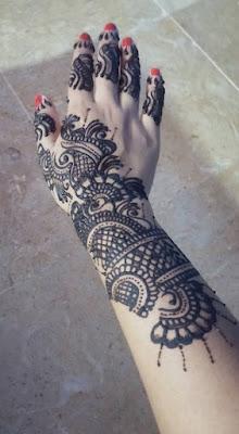 Mehndi Designs For Full Hands