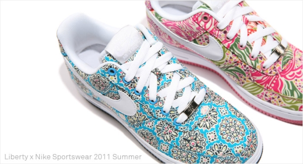 Nike Air Force 1 WMNS x Liberty of London – Sommer 2011