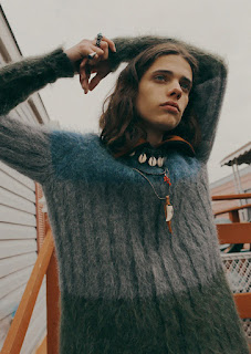 It's Reigning Knits: Erin Mommsen Poses for WWD Magazine