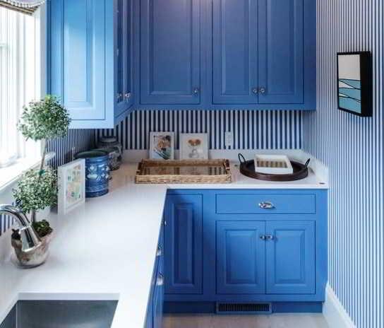 Gambar Desain Dapur Model L