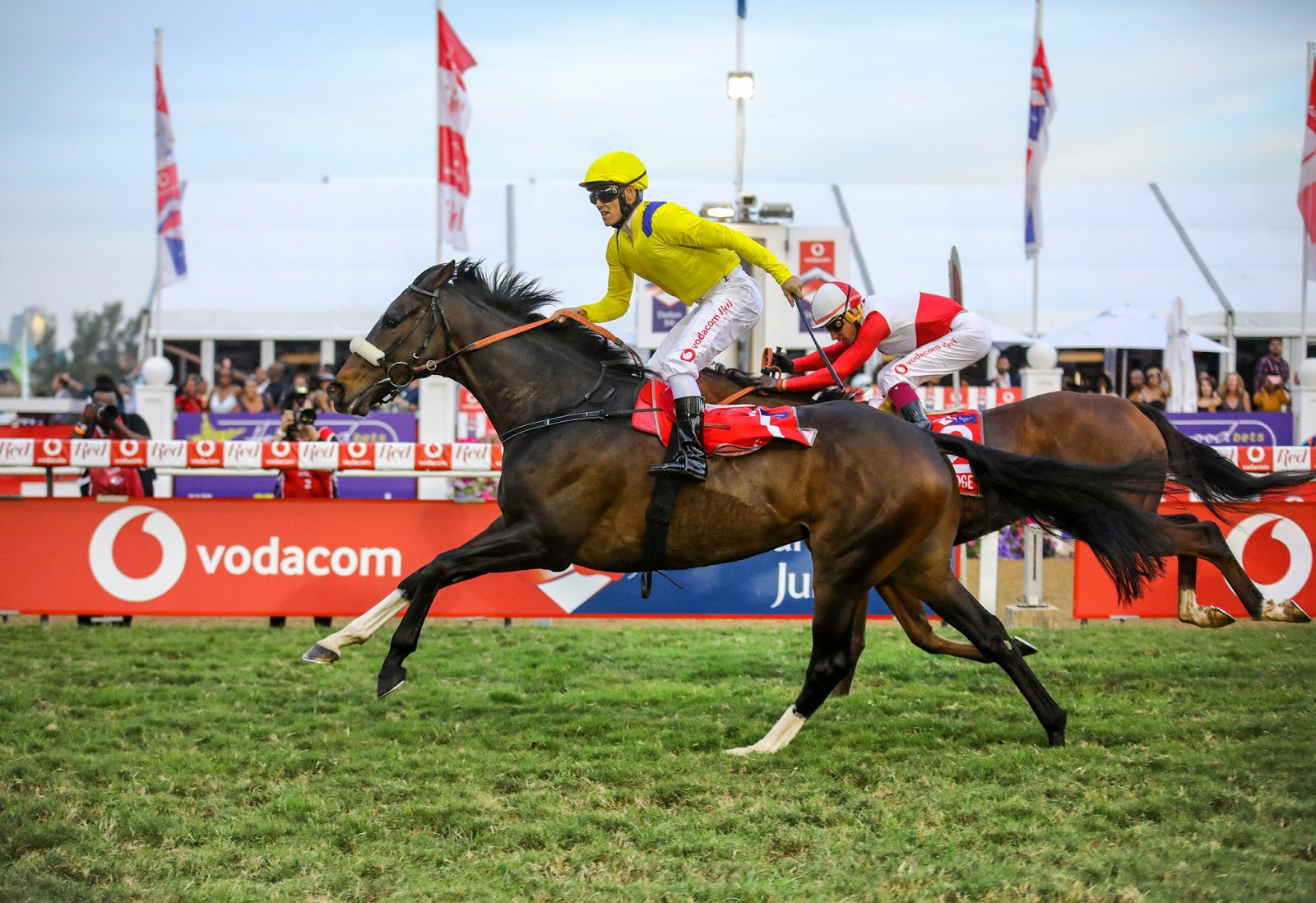 Do It Again winning the 2019 Vodacom Durban July - Photo by Candiese Marnewick / Gold Circle