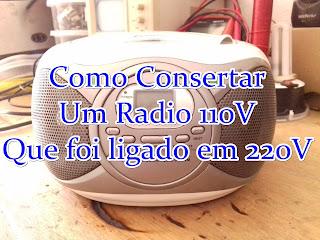 conserto de radio