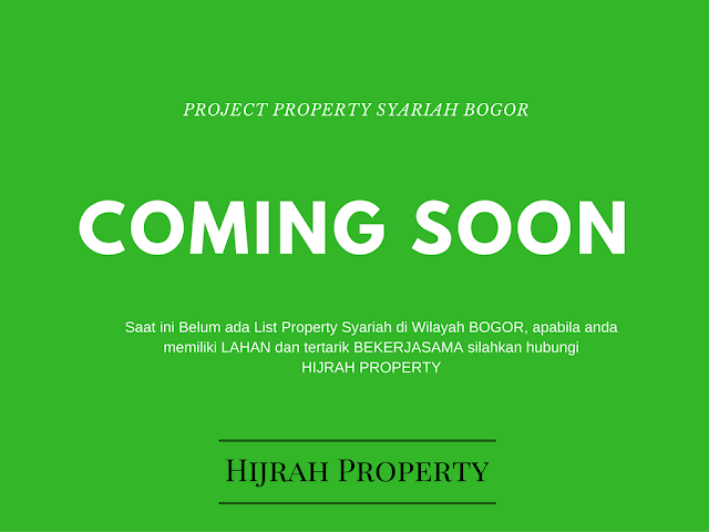 Project Property Syariah wilayah Bogor