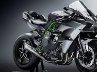 Buka Pre Order, Kawasaki Ninja H2R Carbon Rilis  2018