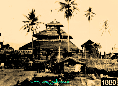 Wisata Sejarah Masjid Tua Indrapuri Aceh Foto Pada Tahun 1880 Kuno