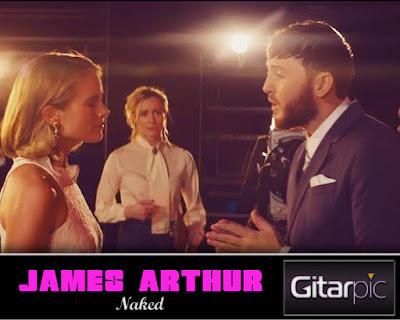 Chord Gitar James Arthur - Naked