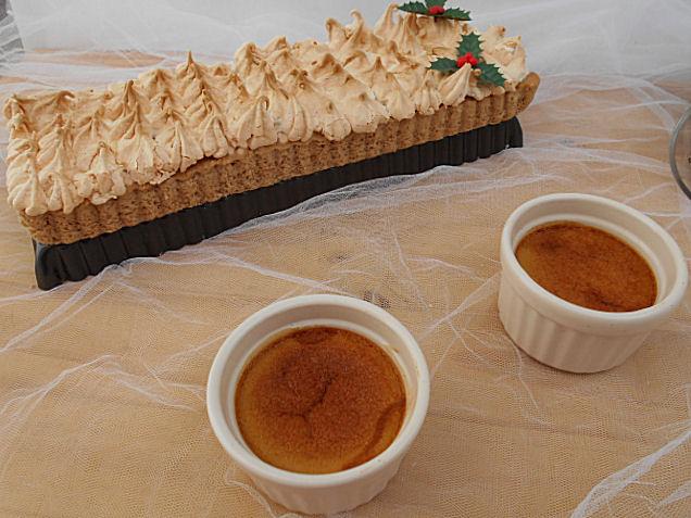 tarte de castanhas merengada