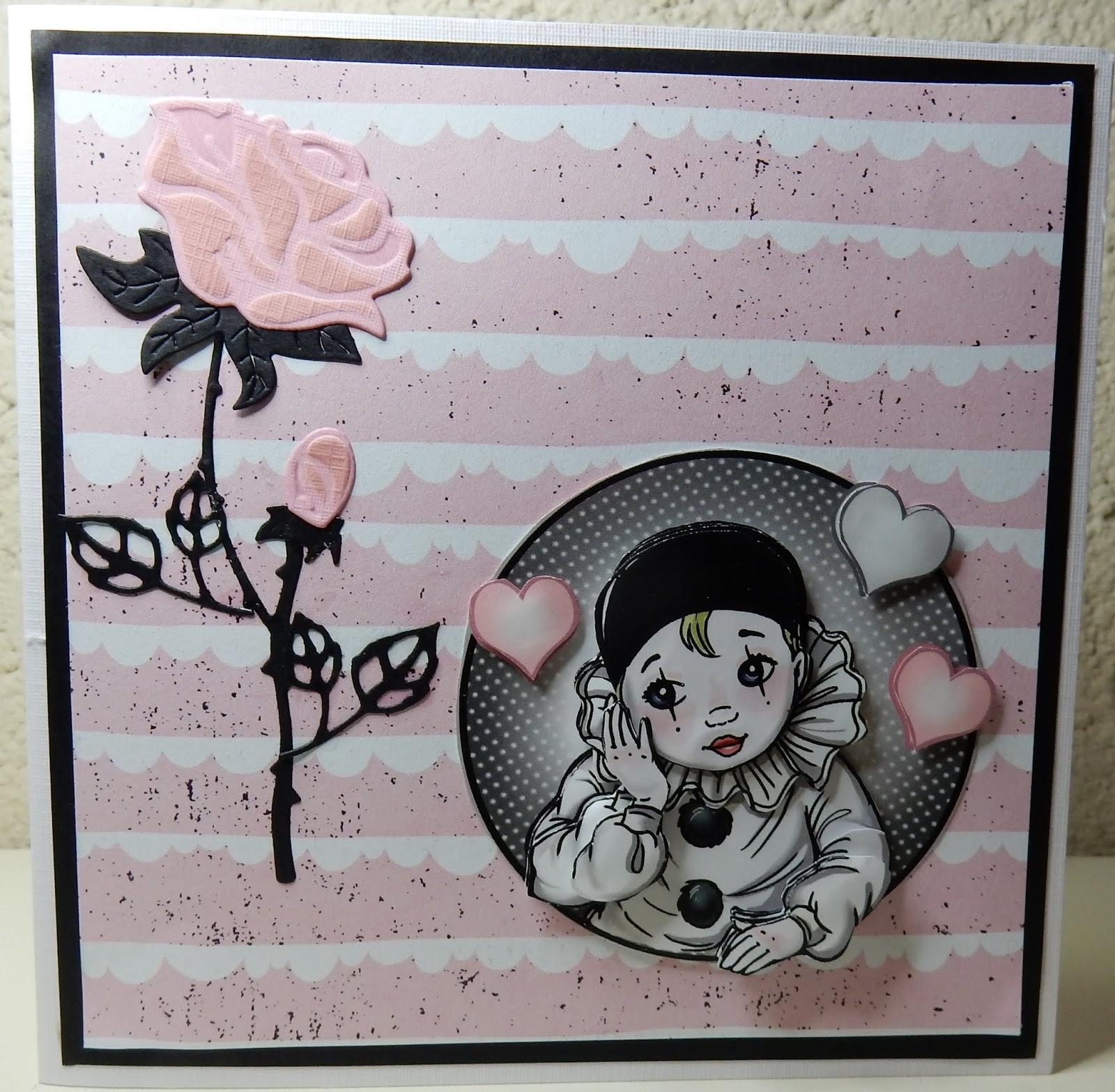 Iets Nieuws Hetty's Knutselhokkie!: Pretty Pierrot 2 Yvonne creations &NO13