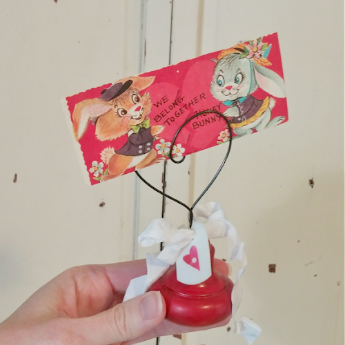 Upcycled Doorknob Photo Holders