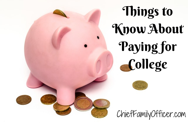 Things to Know About Paying for College