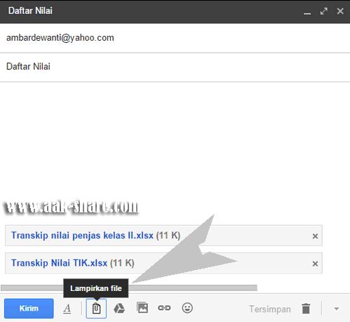 Mengirim Email Beserta Lmapiran