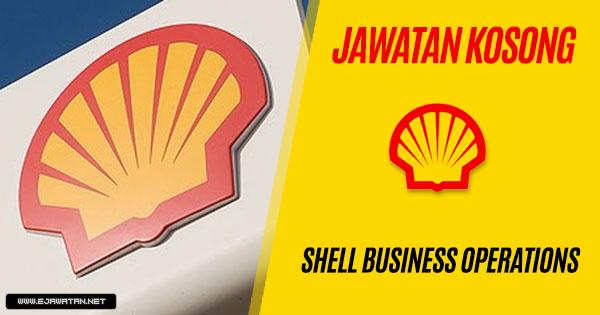jawatan kosong shell 2018