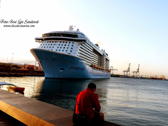 Anthem of the Seas en  Las palmas de Gran Canaria