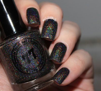 Seventy Seven Nail Lacquer Galactic Kiss | An Indie Polish Lovers United Fangroup Custom