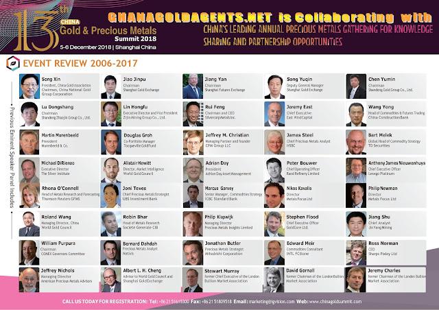 13th China Gold and Precious Metals Summit