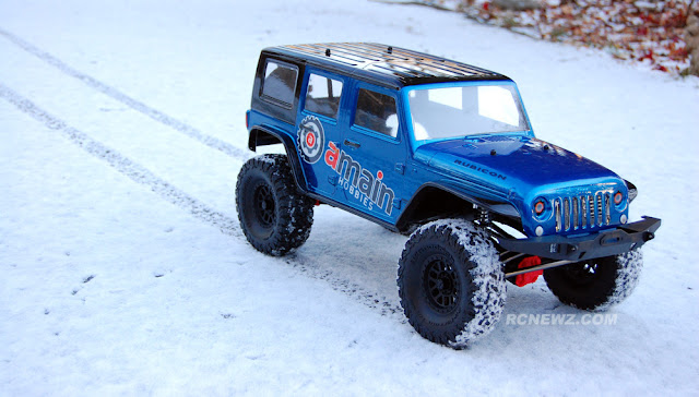 Axial SCX10 II snow