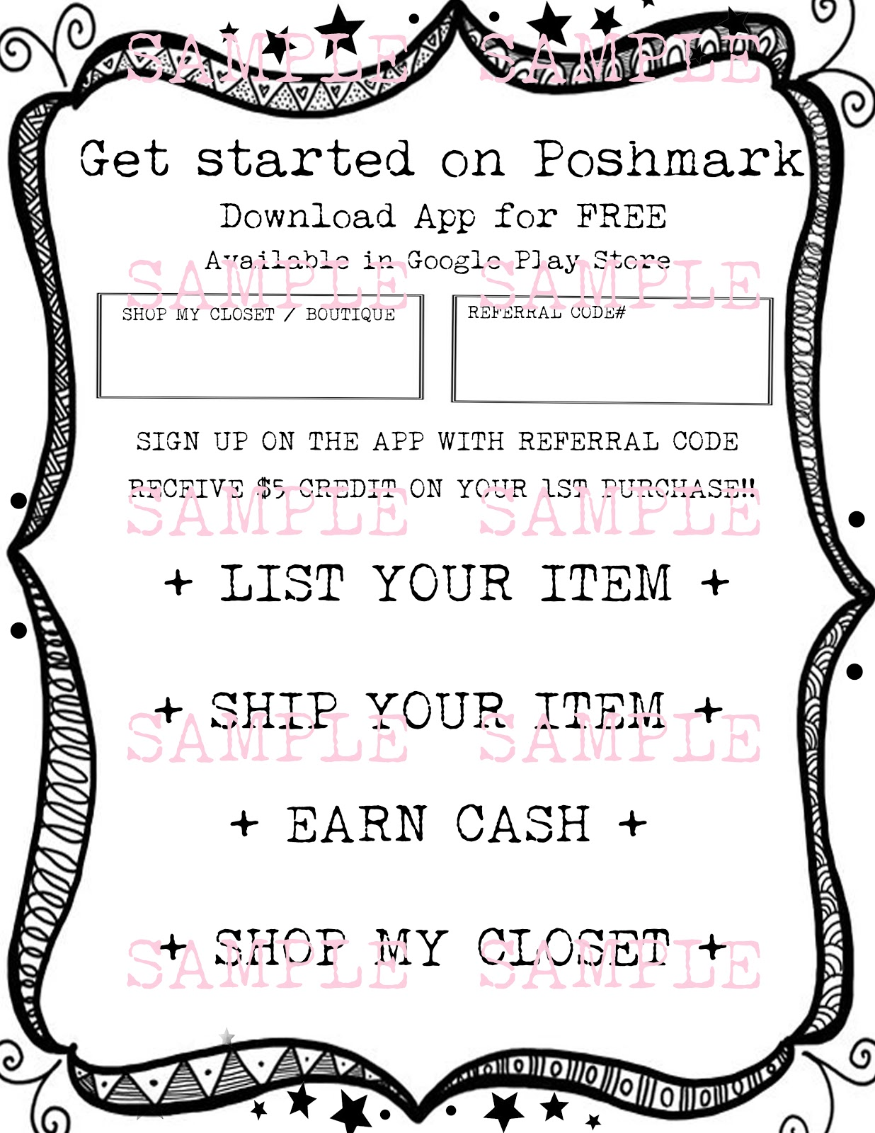 Poshmark coupon code
